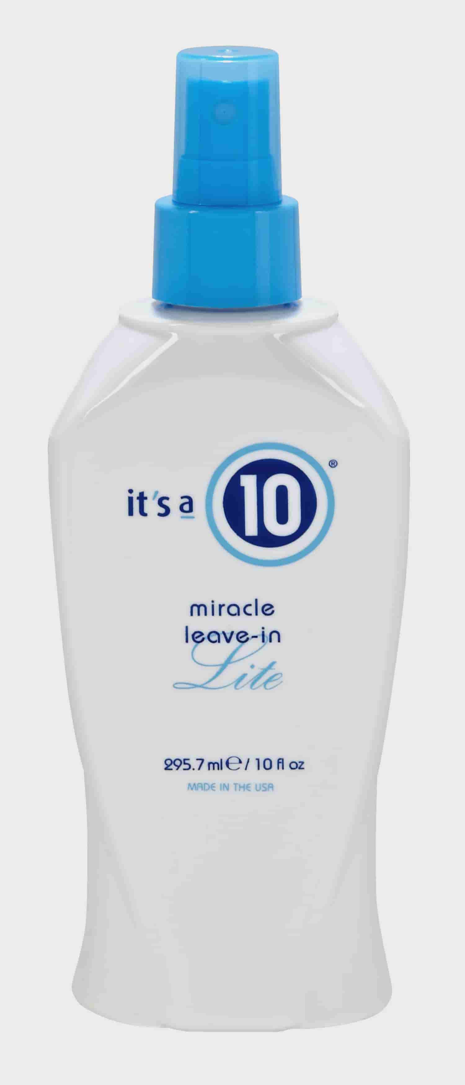 ($37.99 Value) It's a 10 Miracle Leave-in Lite Detangler, 10 fl oz