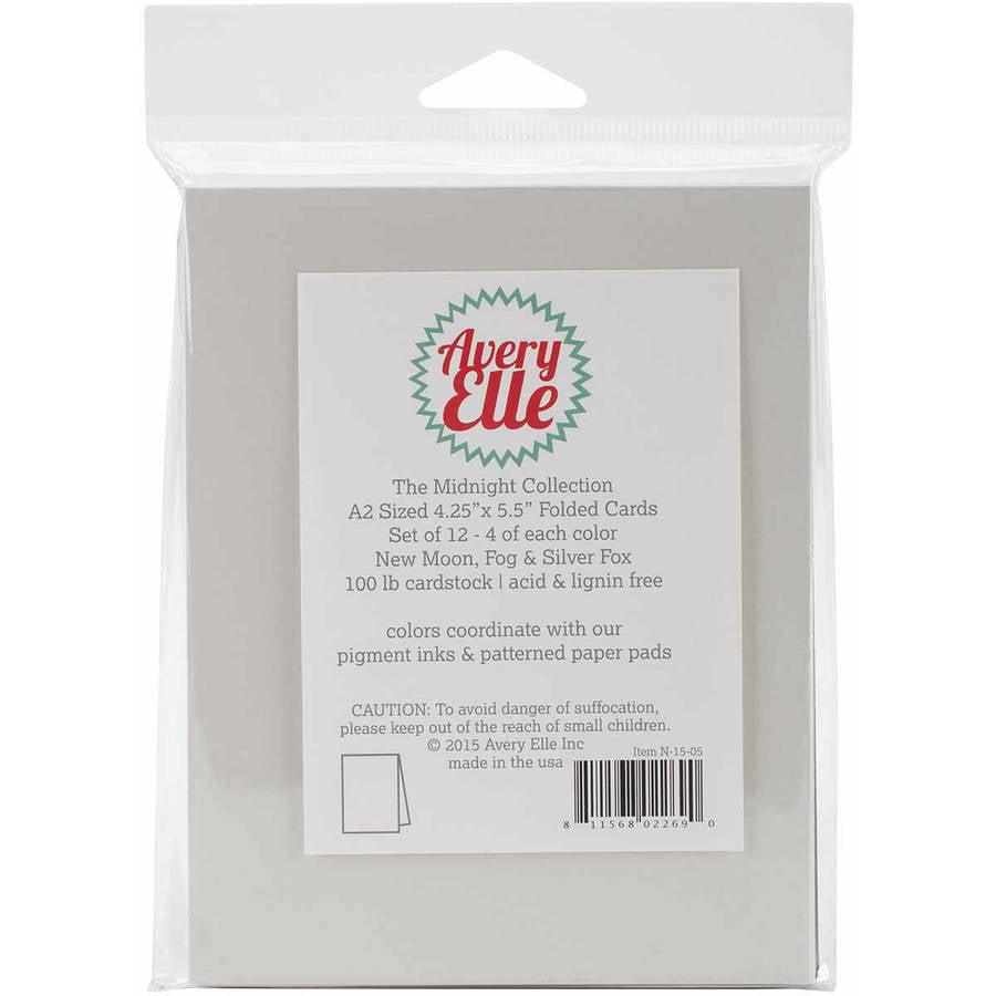"Avery Elle A2 Cards, 4.25"" x 5.5"", 12pk"