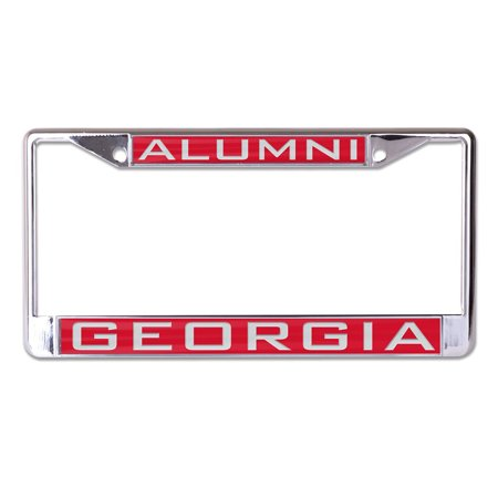 Georgia Bulldogs WinCraft Alumni Inlaid Metal License Plate Frame - No Size