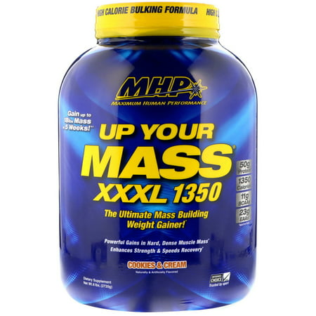 MHP Up Your Mass XXXL 1350, Cookies & Cream, 6 lbs (2720 g)