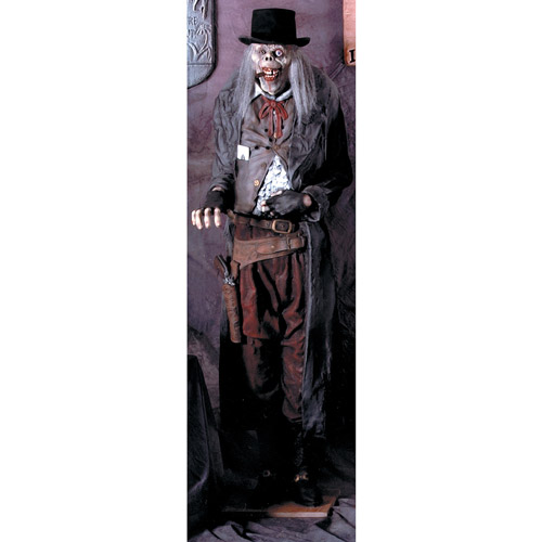 6' Gunslinger Old Deadeye Halloween Prop
