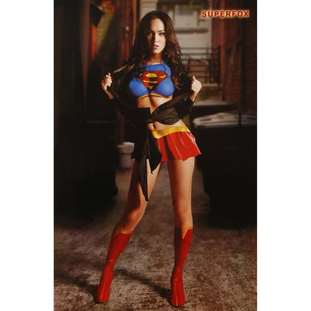 Megan Fox   Domestic Poster