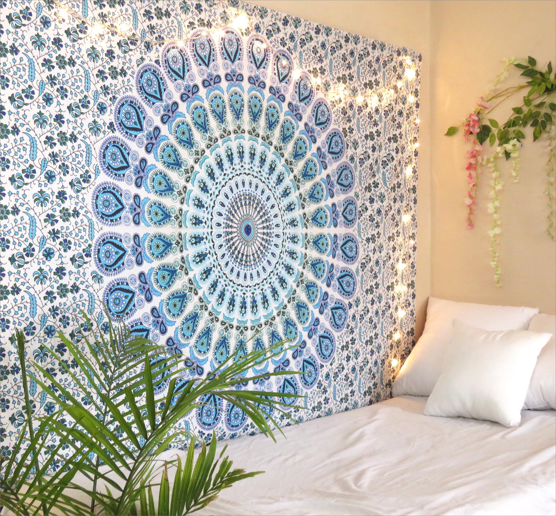 Tapestry Mandala Wall Posters Hangings Bohemian Hippie Handmade Dorm Decor Throw