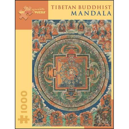 (Tibetan Buddhist Mandala 1,000-Piece Jigsaw Puzzle)