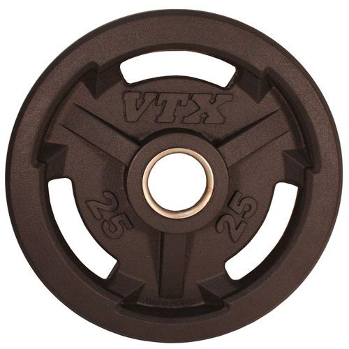 VTX by Troy Barbell 25 lb. Rubber Olympic Grip Plate