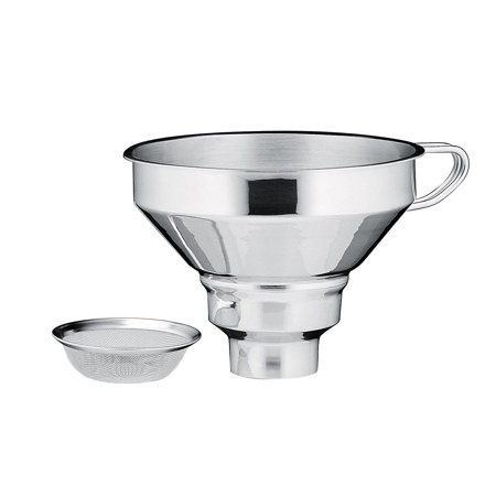 Kuchenprofi 18/10 Stainless Steel Funnel with (Kuchenprofi 18 10 Stainless Steel Funnel With Filter)