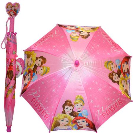(Licensed Princess Kids Umbrella with Molded)