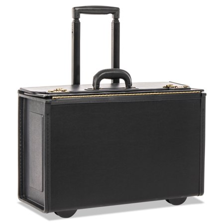Tufide Rolling Catalog Case, 22 1/4 x 9 x 13 1/2, Black -STB251622BLK (Laptop Catalog Case)