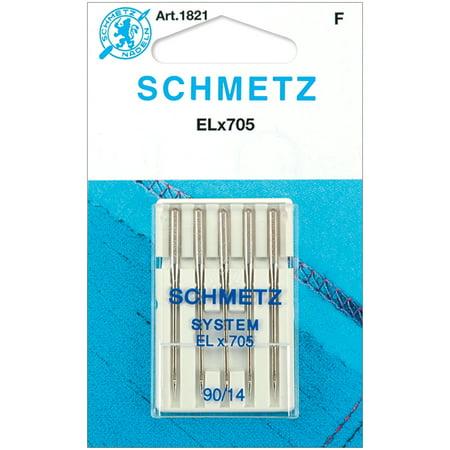 Schmetz Elx705 Serger Needles -Size 14/90 5/Pkg - image 1 of 1