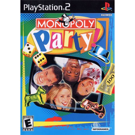 Ps2 Monopoly (Monopoly Party - PS2)