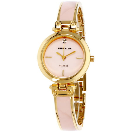 - Anne Klein Women's Classic Mother Of Pearl Dial Stainless Steel Watch AK-2694PKGB