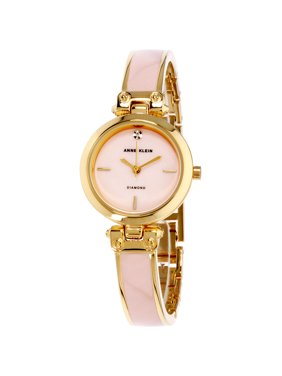 3b8a691f185 Product Image Anne Klein Women s Classic Mother Of Pearl Dial Stainless  Steel Watch AK-2694PKGB