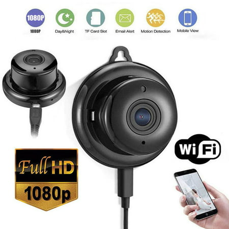 Juslike Camera Wi-Fi Camera Motion Activated - Mini Body Camera - Nanny Small Camera - Tiny Full HD Cam - Cameras for Home - Easy to Use Portable Recorder for Indoor Home (Best Easy To Use Camera)