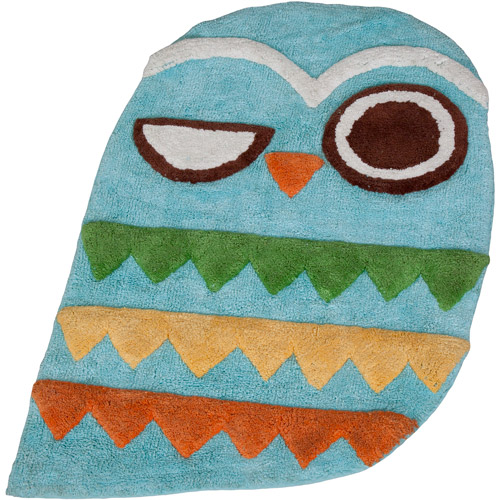 Creative Bath Give A Hoot Rug