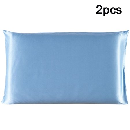 2 Pcs Pillow Cases Pillowcases / Pillow Covers 100% PURE SILK