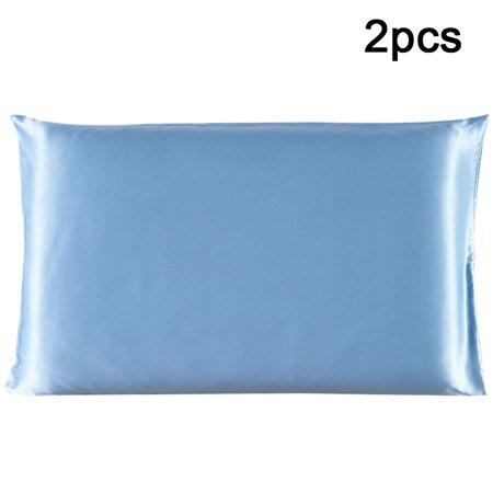 2 Pcs Pillow Cases Pillowcases / Pillow Covers 100% PURE - 100% Authentic Silk