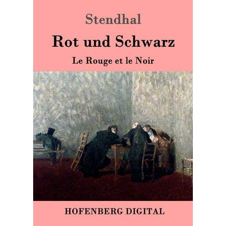 Rot und Schwarz - eBook (Mischen Sie Rot Und Schwarz)