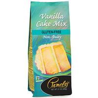 Pamela's Gluten Free Non-GMO Vanilla Cake Mix, 21 oz