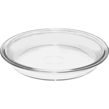 "Anchor Hocking 9"" Glass Pie Plate"