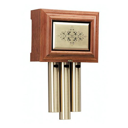 Nutone Traditional Musical Wired Door Chime with Brass Insert by Broan