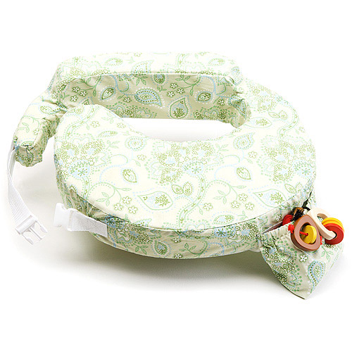 My Brest Friend - Feeding and Nursing Pillow, Green Paisley