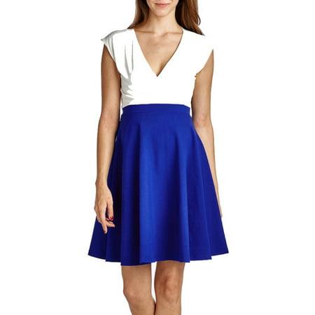 0c4616f8e6965 Mommylicious - Maternity Sailor Colorblock Dress - Walmart.com