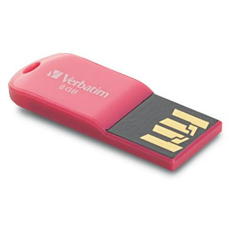 Deals Verbatim Store 'n' Go Micro 47424 8 GB USB 2.0 Flash Drive – Pink – External Before Too Late