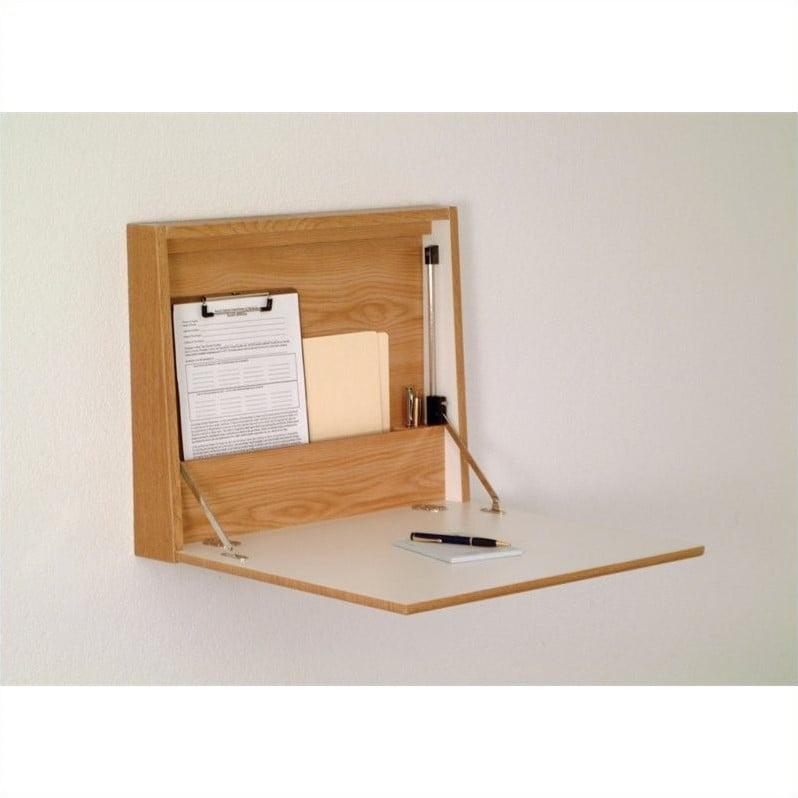 Wooden Mallet FoldinAway Wall Desk in Oak - image 1 of 1