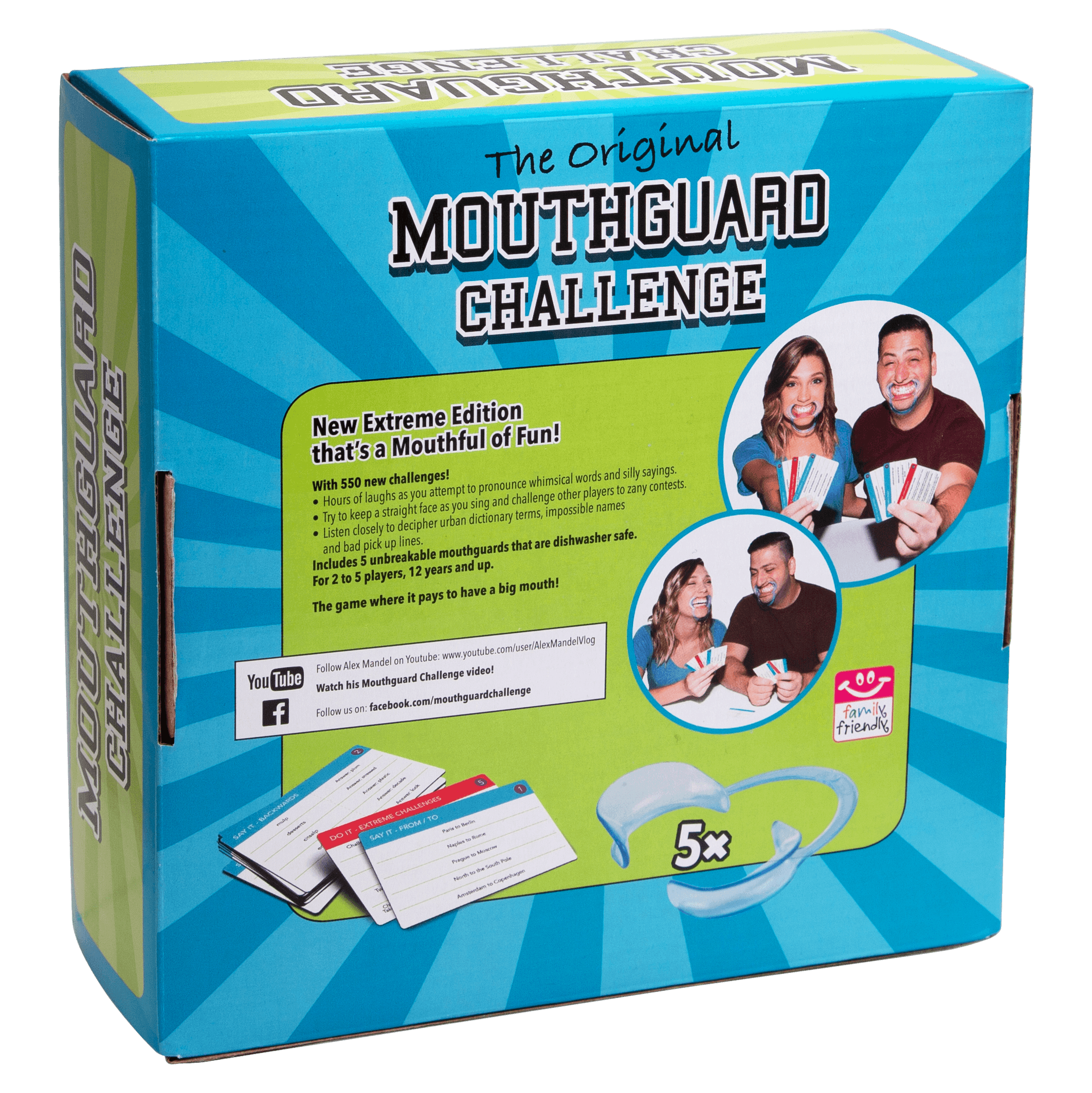 Mouthguard Challenge Extreme Edition Walmart Com