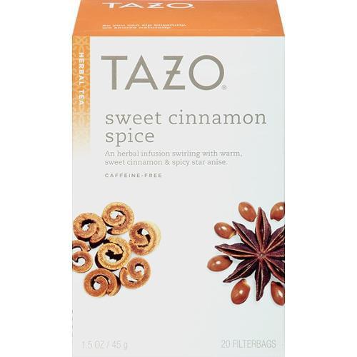 Herbal Infusion Tea-Sweet Cinnamon Spice (Decaf) Tazo Teas 20 Bag