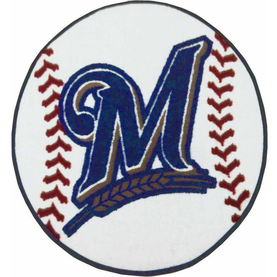 MLB Milwaukee Brewers Fanmats Baseball Mat