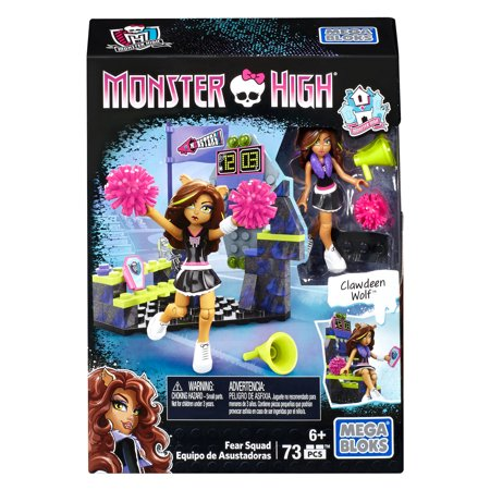 Mega Bloks by Monster High Fear Squad, 73-Piece Set