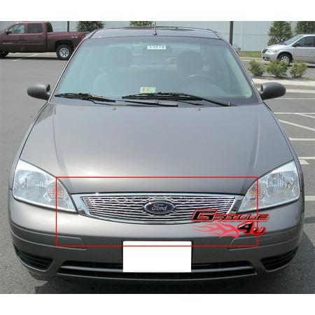 Fits 2005-2007 Ford Focus Main Upper Billet Grille Insert #F65751A Ford Escape Billet Grille