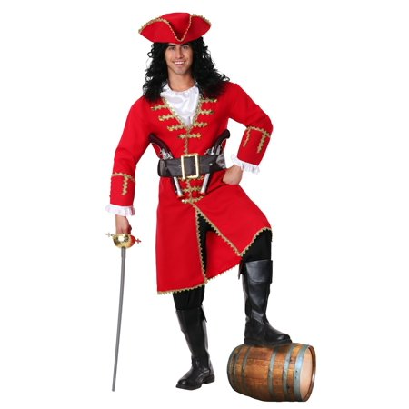 Plus Size Captain Blackheart Costume - image 1 of 1