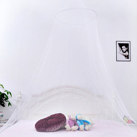 Mosquito Net Dome Netting Curtains Repellent Tent Insect Reject Bed Curtain Elegant Canopy Mosquito Net - image 6 of 7
