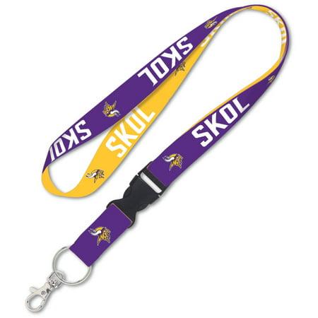 Minnesota Vikings WinCraft Slogan Buckle Lanyard - No Size - Minnesota Vikings Belt Buckle