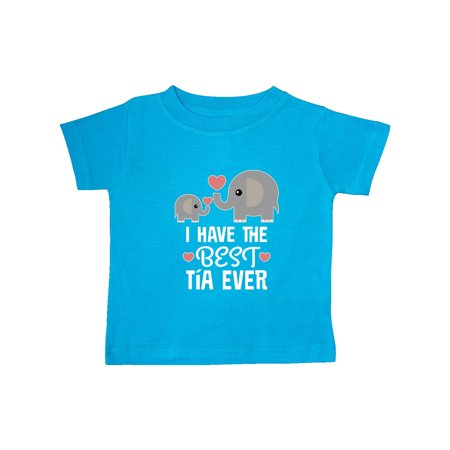 Best Tia Ever Niece Nephew Gift Baby T-Shirt
