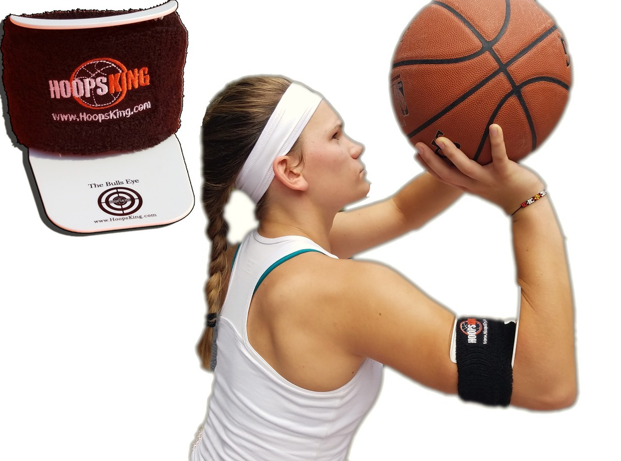 Bulls Eye Basketball Shooting Aid by