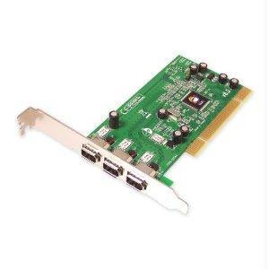 Firewire Car Power Adapter - Siig, Inc. Firewire Adapter - Plug-in Card - Pci - Ieee 1394 Firewire