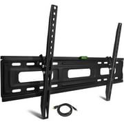 "onn. Tilting TV Wall Mount Kit for 24"" to 84"" TVs with HDMI Cable (ONA16TM013E)"