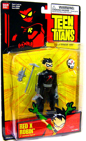Teen Titans Go! Robin Action Figure [Red X] by