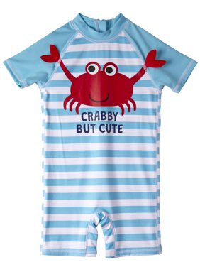 c6c88631f Product Image One Piece Rashguard Swimsuit (Baby Boys)