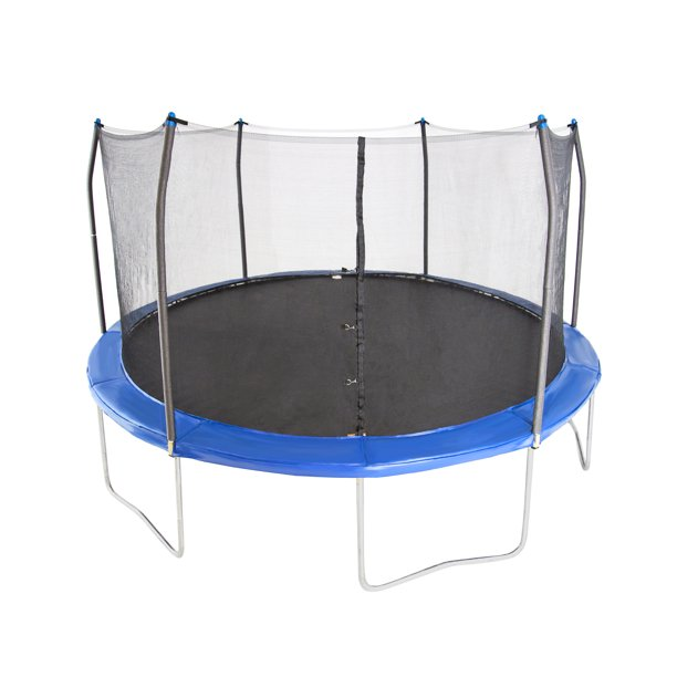 Skywalker Trampolines 15' Trampoline, with Enclosure, Bright Blue