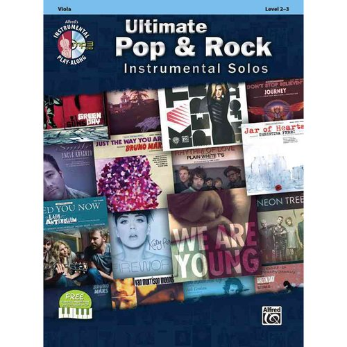 Ultimate Pop & Rock Instrumental Solos: Viola, Levels 2-3