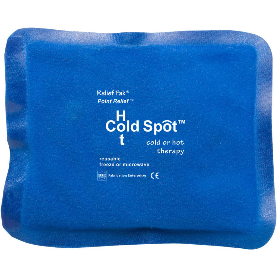 Relief Pak Point Relief Hot Cold Spot Cold or Hot Therapy Pack, Small