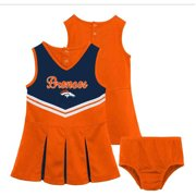 NFL Denver Broncos Girls Cheerleader Set