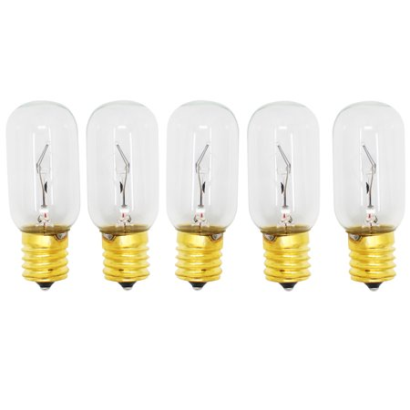 5-Pack Replacement Light Bulb for LG 6912W3Q001A Microwave - Compatible LG 6912W1Z004B Light Bulb - image 3 of 3