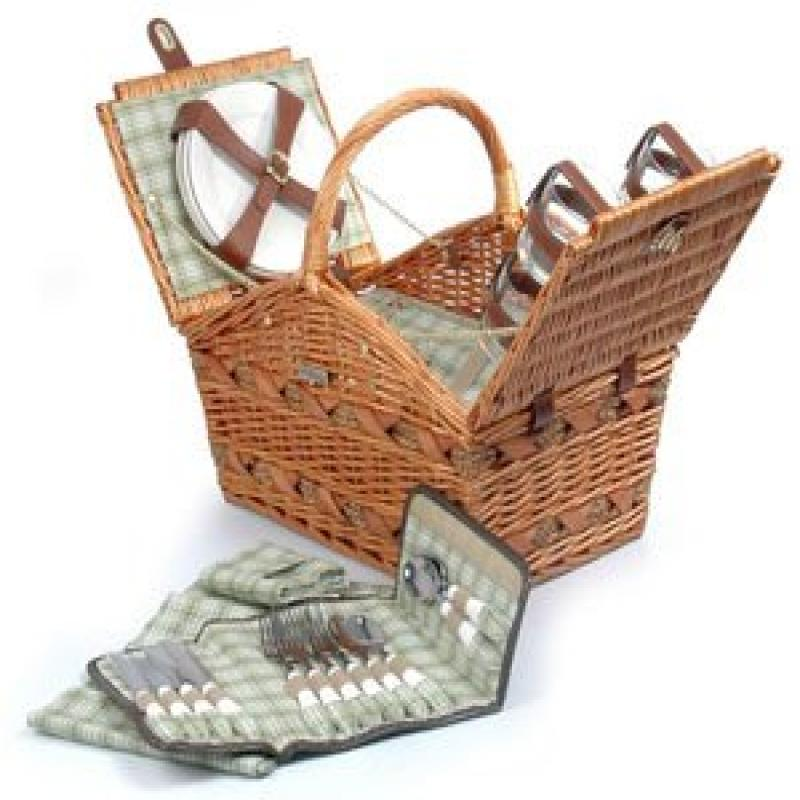 Willow & Seagrass Picnic Basket by