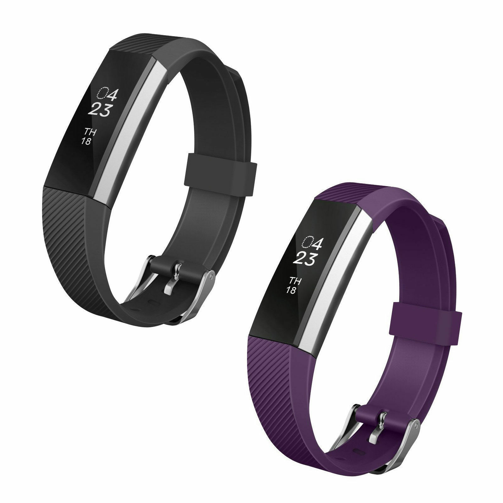 EEEKit Replacement Wrist Band Soft Silicon Strap Clasp Buckle For Fitbit Alta
