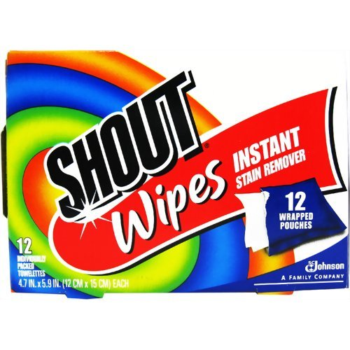 Shout Stain Remover Wipes - 12 ct